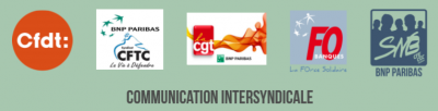 COMMUNICATION INTERSYNDICALE