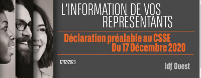 L'information de vos représentants