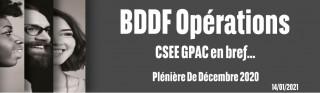 Info de vos élus - CSEE Décembre 2020