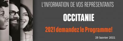 Information CSEE Occitanie -  2021 Demandez le programme !