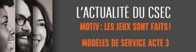 Modèles de service Acte III / Motiv les jeux sont faits !