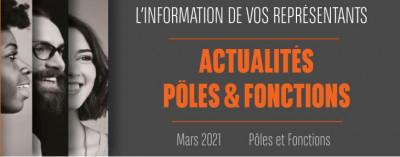 L'information de vos représentants : Actualités P&F